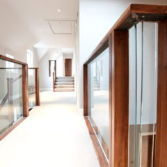 Barnton park upper hallway detail