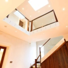 Barnton Park double height entrance hall