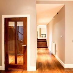 Barnton Park lower hallway