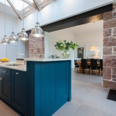 The Grange, Edinburgh, kitchen, extension
