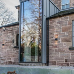 The Grange, Edinburgh, kitchen extension