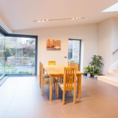 The Grange, Edinburgh, kitchen extension