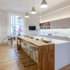 Moray Place, Edinburgh, New Town, refurbishment